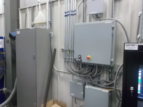 DX Calibar Panel at the Novabus Plattsburgh site