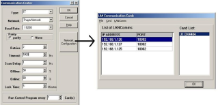Ethernet to LAN Communication Setting