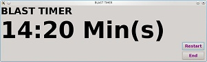 Mine Blast Timer Window