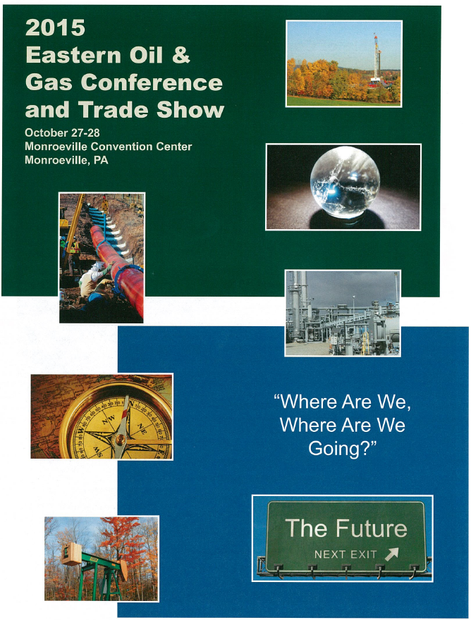 Pioga Easter Oil Gas Conference Trade Show Front Page